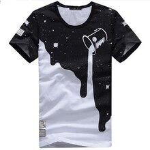 Milk T Shirt  Printed 3D Designer Clothing Tshirt XXL Men Cotton Short-Sleeved Luxury Brand T-Shirt Men Summer Free Shipping