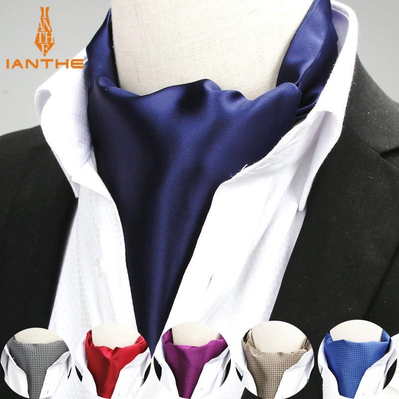 Cravate en Polyester Jacquard pour hommes | Couleur unie, rouge marine, nouveauté mariage Slim, cravate pour hommes, nouvelle marque 2018