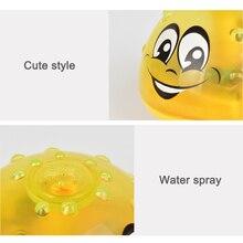Электрический индукционный распылительный шар светильник для ванной комнаты для младенцев и детей, детская водяная ванна, игрушки для игр, объятия-предложения