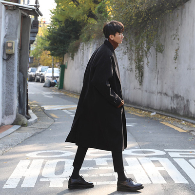 AYUNSUE Long Woolen Coat...