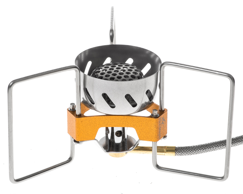 1 Pc feu érable FWS-02 coupe-vent extérieur Camping ultraléger Split cuisinière à gaz tête - 3