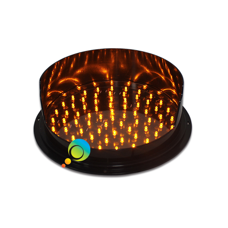 12inch waterproof yellow traffic signal light DC12V LED traffic replacement for promotion