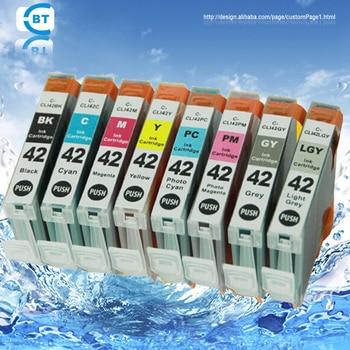8 color 1set  BCI-43  ink cartridge for canon PIXUS PRO-100 printer