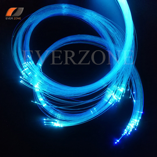 Super Worth Fiber Optic Light Strands 150pcs(50pcs-0.5m/50pcs-1m/50pcs-1.5m) 0.75mm Cable For DIY Star Ceiling Sky