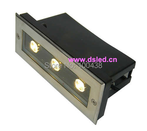 Led Light Fixtures Good: Good Quality,high Power 3W Outdoor LED Recessed Light