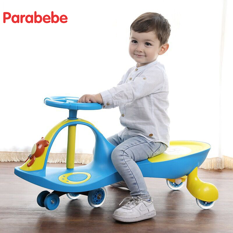 Baby Walker With 5 Wheels 1-3 years kids bike PP material child tricycle Red Blue Yellow Colors balance bike scooter baby light 6 5 adult electric scooter hoverboard skateboard overboard smart balance skateboard balance board giroskuter or oxboard