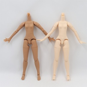 Image 2 - blyth doll icy toy body small chest joint body azone body white skin dark skin natural skin for DIY custom doll