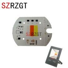 Светодиодный RGB-чип COB, 220 В переменного тока, 30 Вт