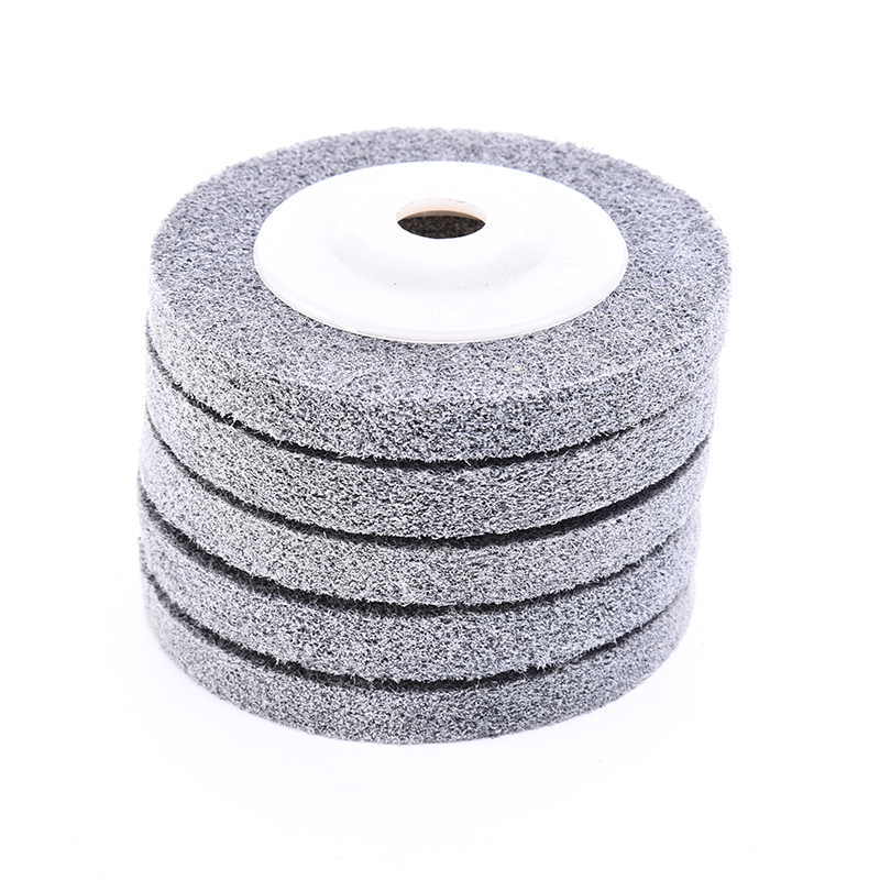 Nylon Grinding Disc 180# Flap Wheel For Metal Finish Wood Polishing On Angle Grinder 100*12*16mm