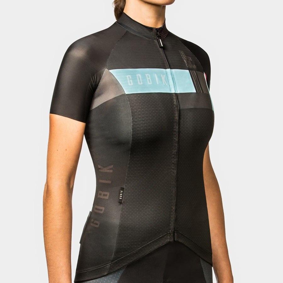 gobik female cycling jersey 2019 custom clothing jacket aero maillot bike gear women tops wear ropa