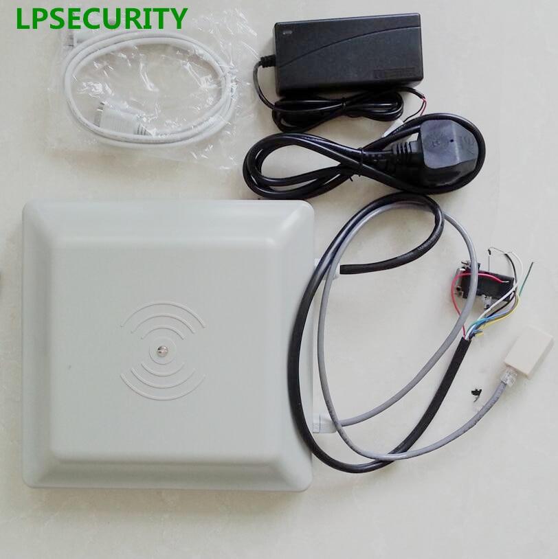 LPSECURITY LAN RJ45 TCP IP 6m RFID UHF Reader car parking access long range reader for