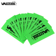 10Pcs/Lot 18650 Battery Wrapper Sticker Electronic Heat Shrink Tube Cable Sleeves Protected Cover Skin Decoration Sticker(China)