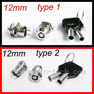 HTB1nfunQpXXXXXOaXXXq6xXFXXX5 - New arrival ( 1PC/PACK) 12mm Metal Key Switch 250V ON/OFF Lock Switch KS Electrical Key Rotary Switch with Keys