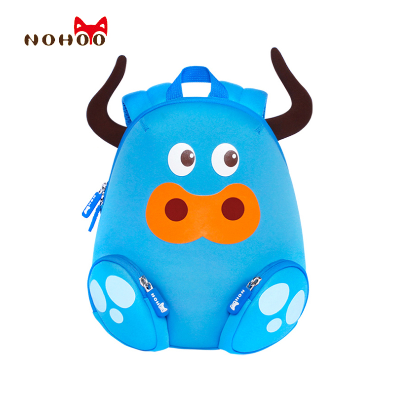 NOHOO Little Children's School Bags Kids Backpacks 3D Cartoon Cattle Pre School Toddler Baby Cute School Bags for 2-4 Years Old 100 ideas for early years practitioners forest school