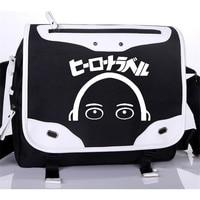 One Punch Man Anime One OPPAI Saitama Cosplay Oxford School Bag Unisex Messenger Bags Free Shipping