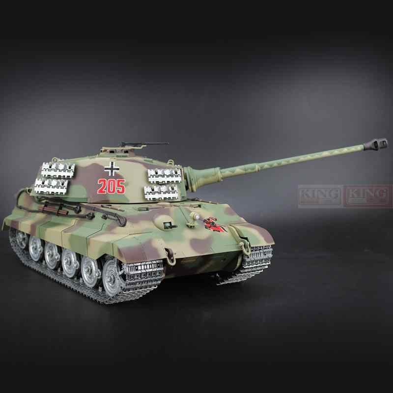 1/16 scale 2 4GHz R/C Battle Tank Henschel Turret German