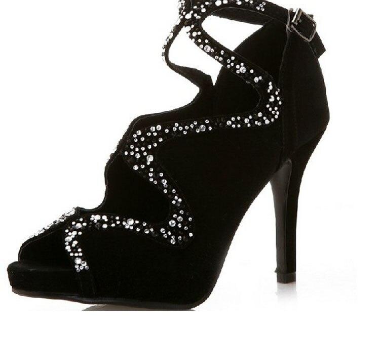 Chaussures Mode De Soirée Banquet Robe été Printemps Dame Sexy Formelle Noir Partie Sandales Populaire Bal qCBfwX