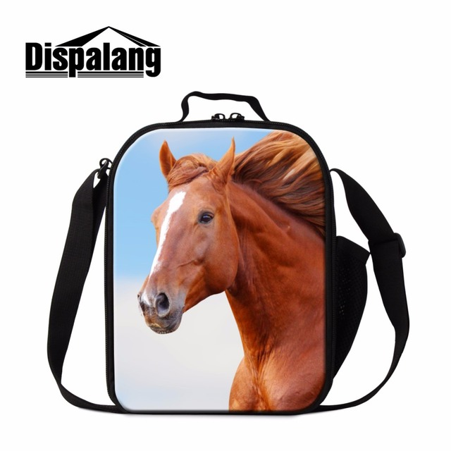 Dispalang popular lunch cooler bags for adult horse lunch bag insulated for children portable meal package thermal lunch box