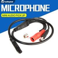 Audio Pick Up High Sensitive Mini CCTV Audio Microphone Mic For Security CCTV Camera DVR System