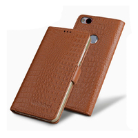 Luxury Business Style Pure Genuine Leather Flip Case Magnet Cover Bag For ZTE Nubia Z11 5