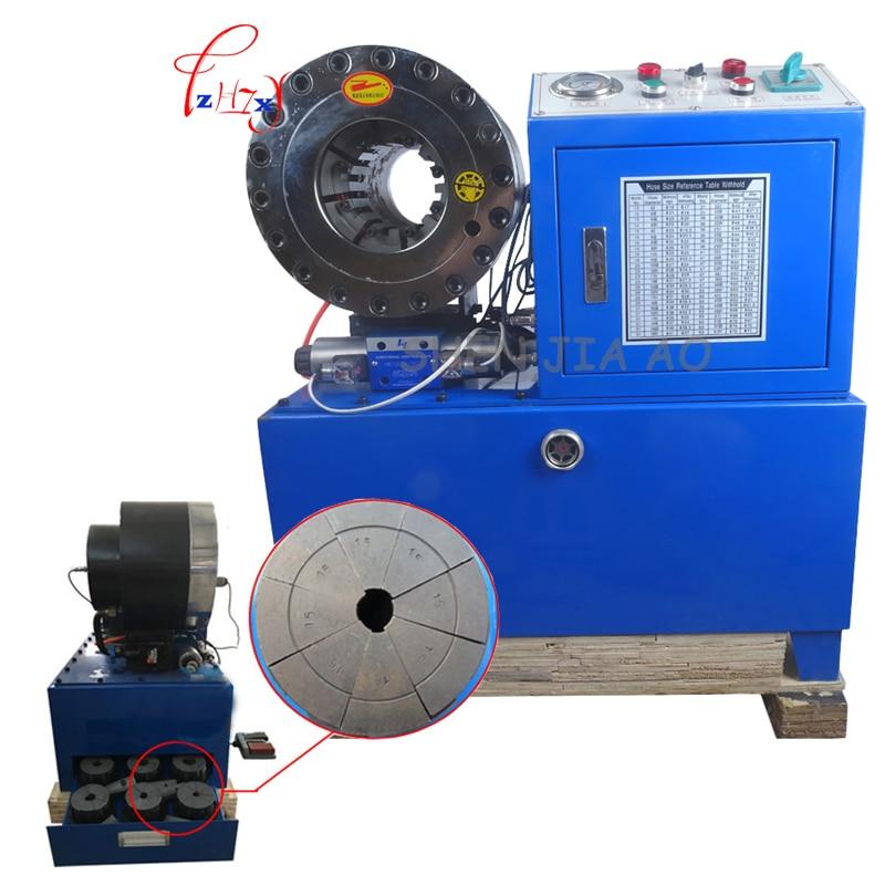 """Máquina de prensado de manguera hidráulica BNT68 1/4 """"a 2"""" 4SH/SP manguera de silicona manguera de agua bomba de émbolo 5L 220 V/380 V 3kw"""