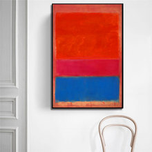 цена на Free Shipping by DHL FEDEX 100%hand-painted Mark Rothko Oil Painting on Canvas Unframed for Home decor