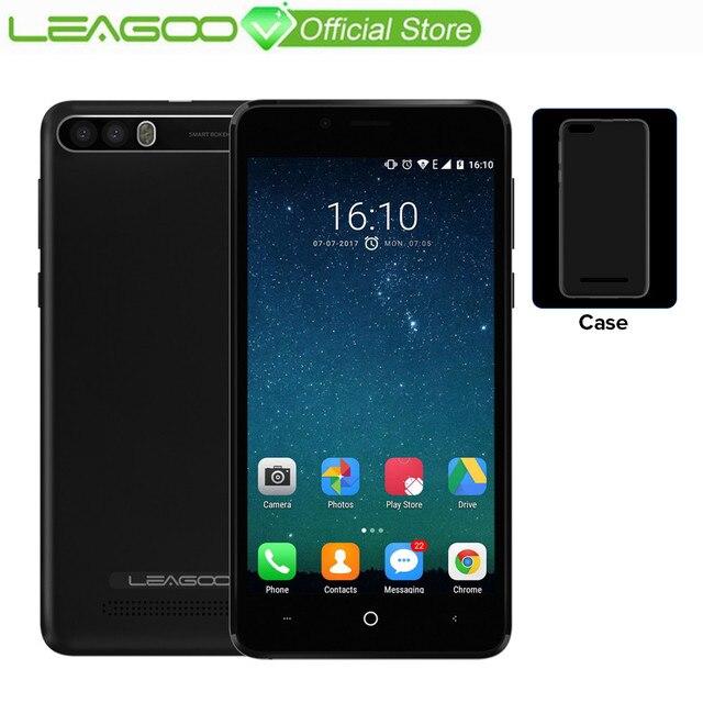 "LEAGOO P1 Pro 4G Mobile Phone Dual Rear Camera 4000mAh 2GB RAM 16GB ROM 5.0"" HD IPS Android 7.0 MT6737 Quad Core Smartphone"