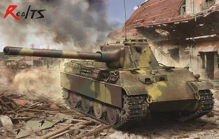 RealTS Amusing Hobby 1/35 35A018 German Panzerkampfwagen Panther II
