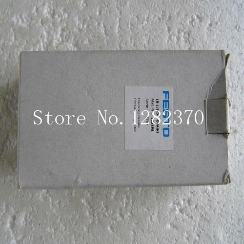 New original authentic FESTO regulator LR-1/8-D-7-O-MINI spot 162598 --2pcs/lot [sa] new original special sales festo regulator lr 1 8 do mini spot 162590 2pcs lot