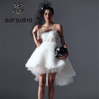 pring And Summer Woman Fashion Dress Original Design Manual Bead 3D Flower Net Short Before And After The Long Hot Sale.