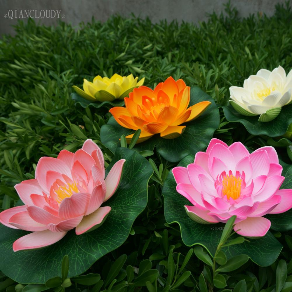 Aliexpress Buy Retail Artificial Fake Eva Lotus Flowers Leaf