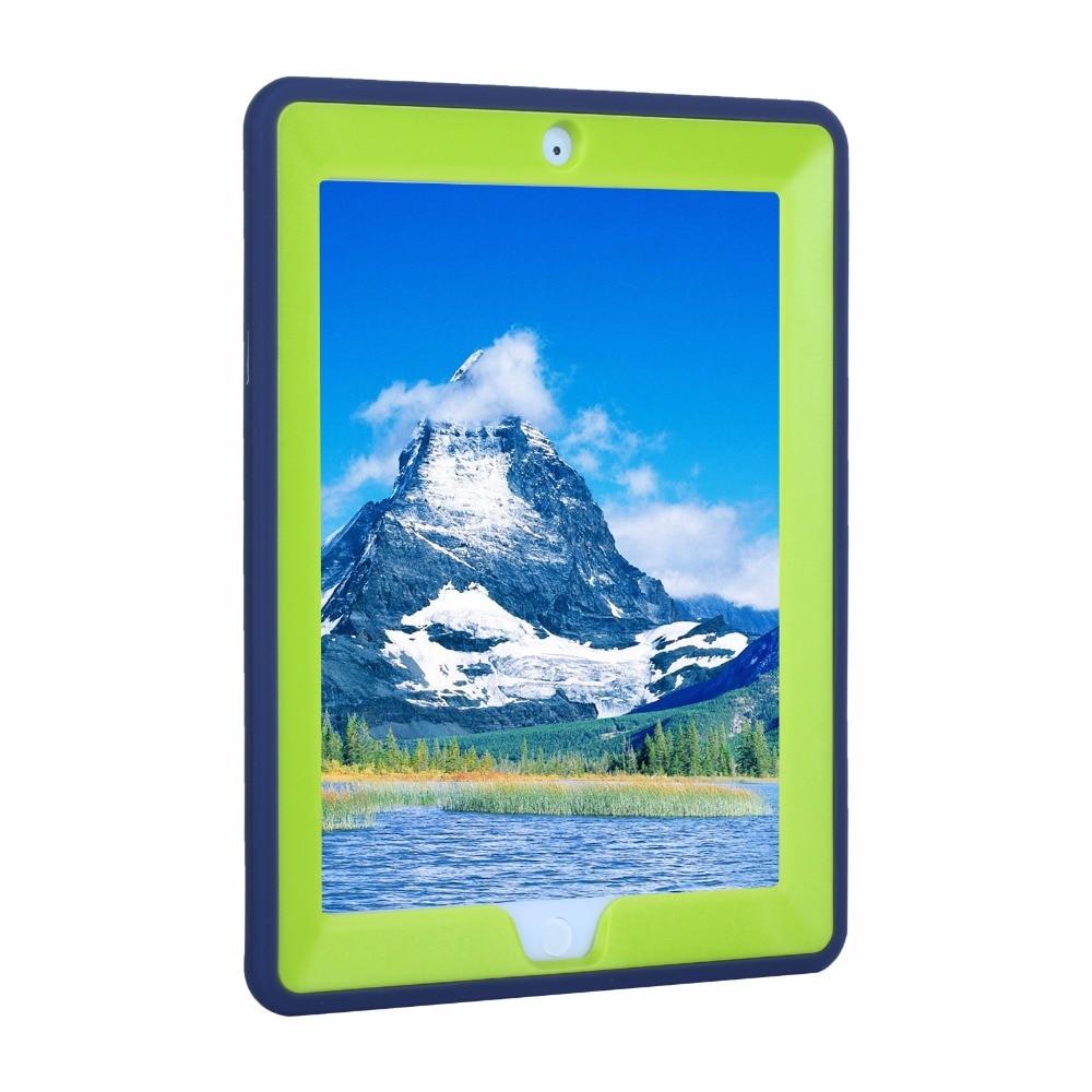 2017 yeni çocuk case ipad 2 4 3 için lastik desen hibrid standı - Tablet Aksesuarları - Fotoğraf 4