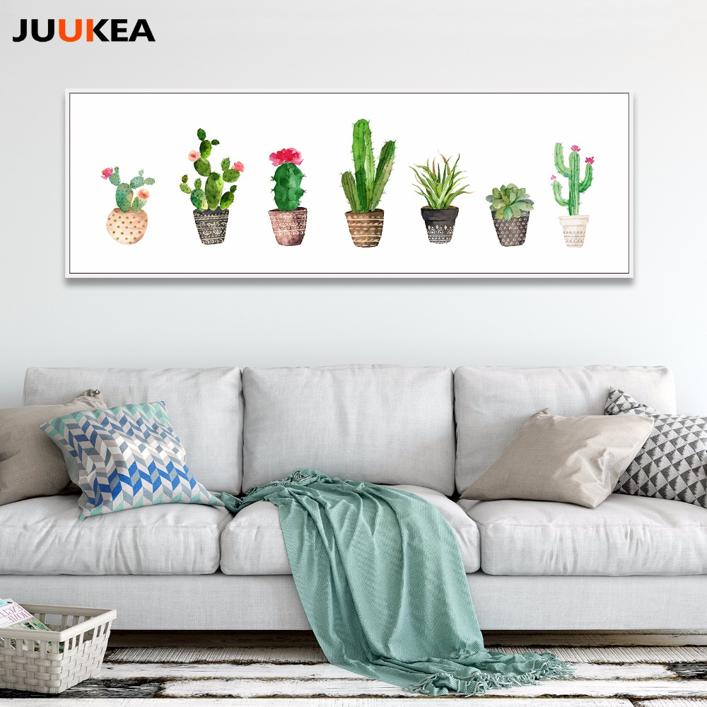 Plante Sur Les Murs exclusif d'origine nordique aquarelle minimaliste vert