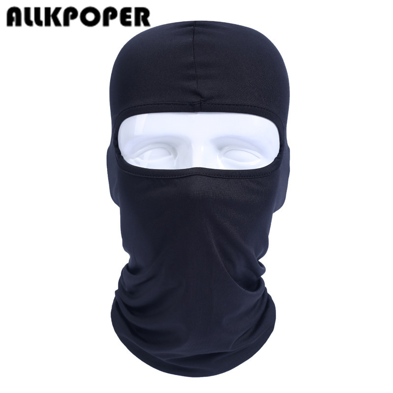 ALLKPOPER Breathable Quick Dry Head Cover Motorcycle Tactical Military Army Airsoft Helmet Liner Cap Hats Protect  Face mask