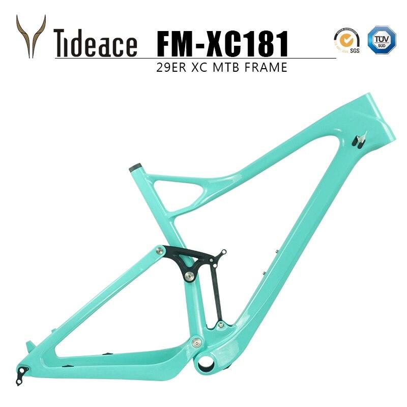 Twinloc XC Full Suspension Carbon Mountain Bike Frame 27.5er Plus Mtb Carbon Suspension Frame Disc 2018 Mtb Boost Frame 27.5