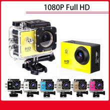 Goldfox Brand 12MP 1080P Full HD Sport DV 30M Waterproof Go Diving Pro Style Mini Camera Outdoor Sport Bike Helmet SD Card Cam