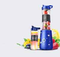 Juicers 과즙 짜는기구 완전 자동 과일 및 야채 다기능 휴대용 튀김 주스 메이커 미니 과즙 짜는기구.