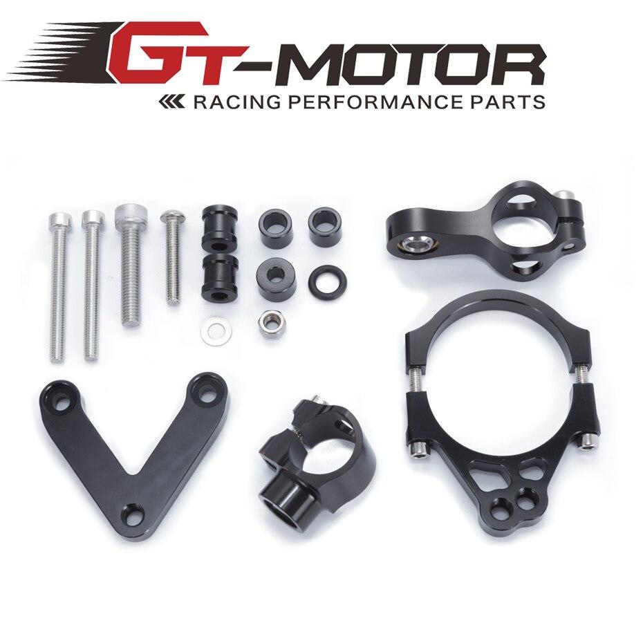 GT мотор - для Ducati 848 2008-2010 2009 мотоциклами регулируемой рулевой демпфер стабилизировать Кронштейн Крепление набор аксессуаров