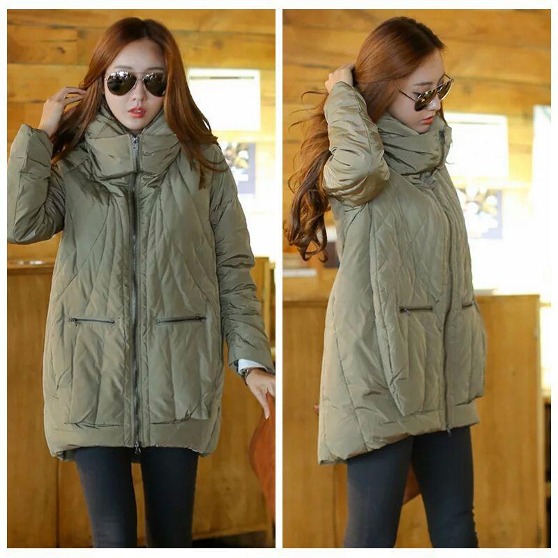 Winter jacket women hooded long Slim   down     coat   warm outwear women large size white duck   down   jacket female winter thick   coat