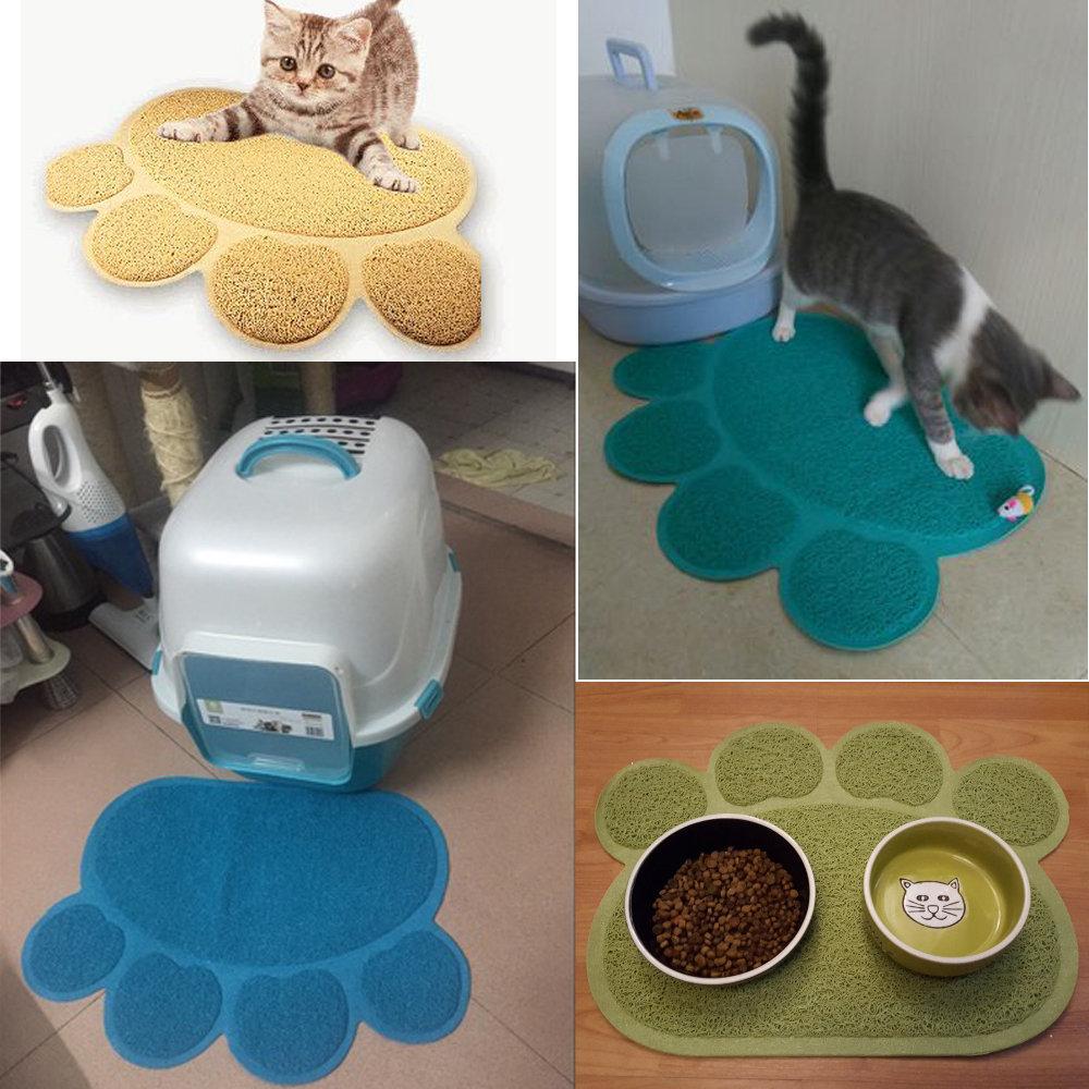 30x40cm-Pet-Pad-Dog-Cat-Feeding-Mat-Pad-Dog-Paw-Shape-Cup-Placemat-Pet-Bed-Mat