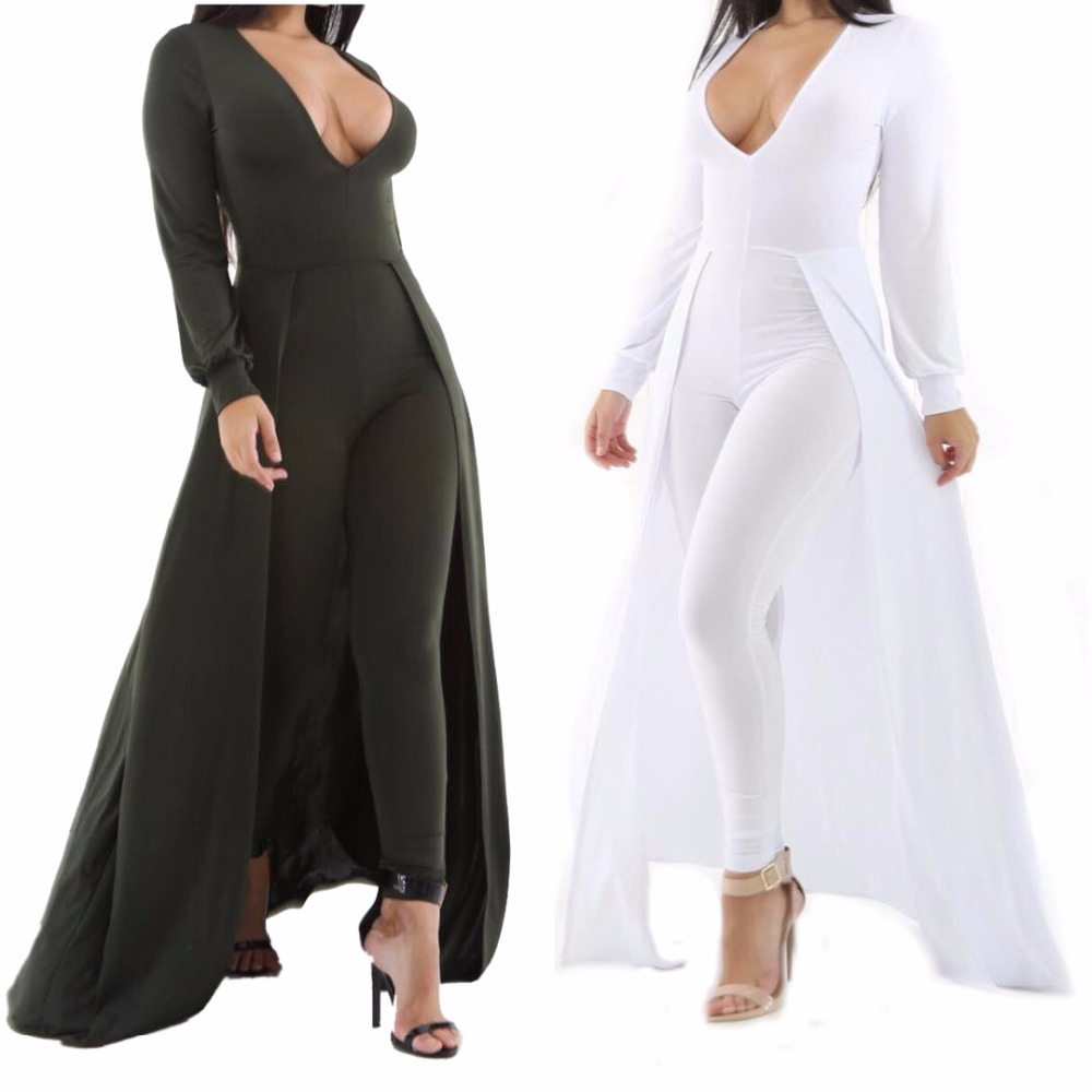 Unique Rompers Womens Elegant Jumpsuit Wide Leg Long Pants Summer Women