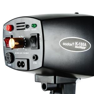 Image 5 - Godox K 180A 180 W Mini Master Studio Strobe Foto Compact Flash Licht Lampe