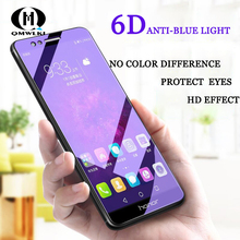 2.5D Anti-blue Film For Huawei Honor 8 8X MAX Mobile Phone Screen Protectors V9 V10 9 10 Lite HD Protection