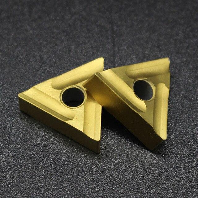 10PCS  TNMG160404 R External Turning Tools Carbide insert Lathe cutter Tool Tokarnyy turning insert Turning Tool