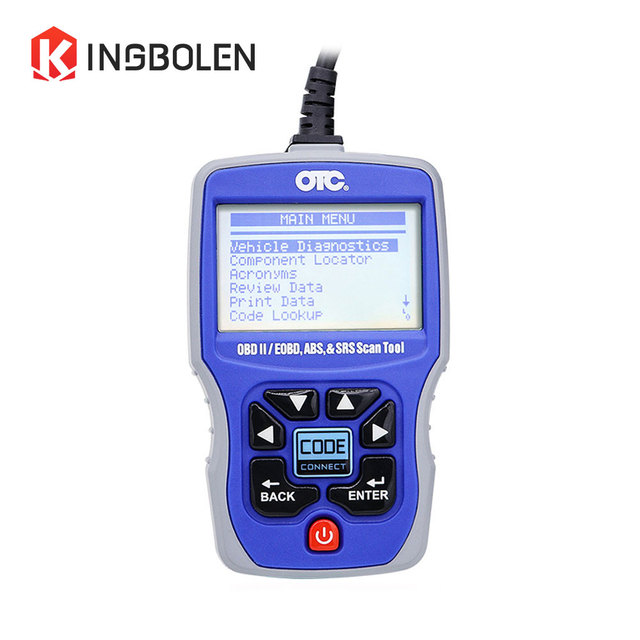 2017 New Arrival OTC OBDII/CAN/ABS/Airbag(SRS) 3111 Scan Tool OBD2 EOBD OTC 3111 Code Reader diagnostic tool