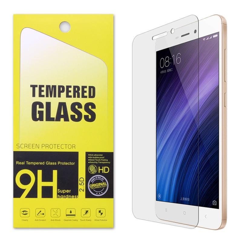 Premium Tempered Glass Film Screen Protector for Xiaomi Redmi 4 4A Pro 3 Hongmi Note 3 Note 4 4X 2 Mi3 Mi4 Mi5 Mi4i Mi4C Mi4S