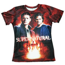 Supernatural Winchester Brothers Short Sleeve T-Shirt