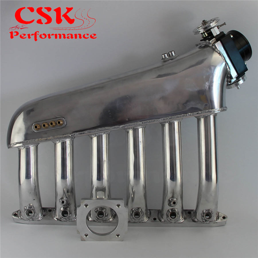 US $228 0 5% OFF|Intake Manifold Plenum +Universal VQ35TPS 80mm Throttle  body Fits For BMW E36 E46 M50 M52 M54 325i 328i 323i M3 Z3 E39 528i-in  Intake