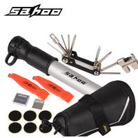 SAHOO Bike Tools Bag Portable Bicycle Tire Tyre Repair Tools Set Multifunction 11 In 1 Tool