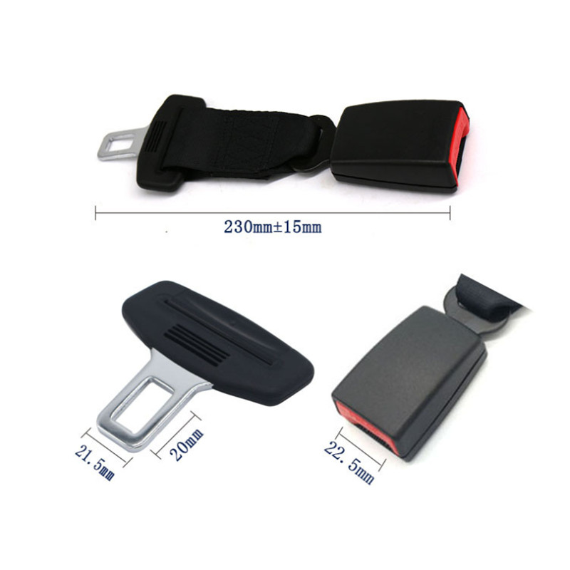 CARCHET Universal Car Seatbelt Baby Seat Adjustable 23CM Extender Child Safety Belt Padding Holding Protection